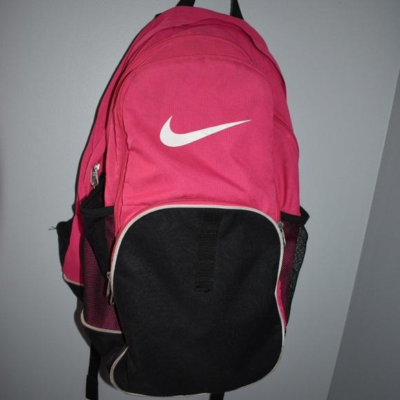 e7c4da3ea38 Nike Bags   Pink Backpack   Poshmark